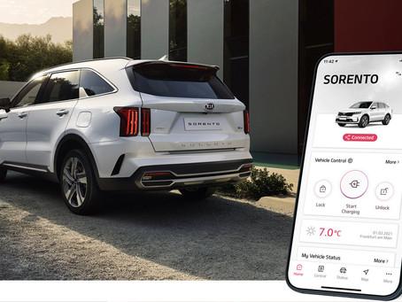 Kia UVO Connect: l'app si aggiorna con nuova grafica e contenuti