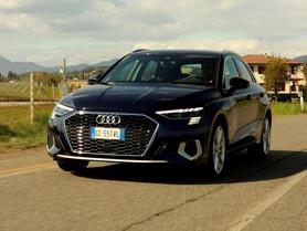 Audi A3 TFSI e: recensione e prova della berlina premium ibrida plug-in (Video)