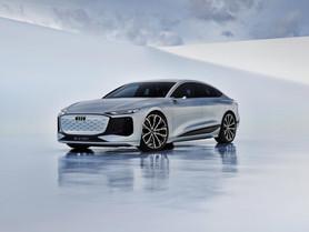 Audi A6 e-tron concept anticipa la berlina elettrica con 700 km di autonomia e piattaforma PPE