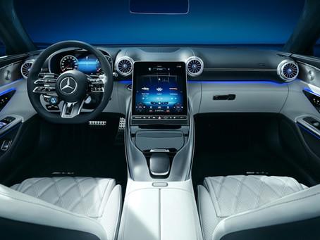 Mercedes-AMG SL: prime immagini degli interni