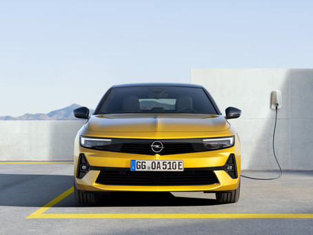 Opel Astra-e: nel 2023 anche elettrica!