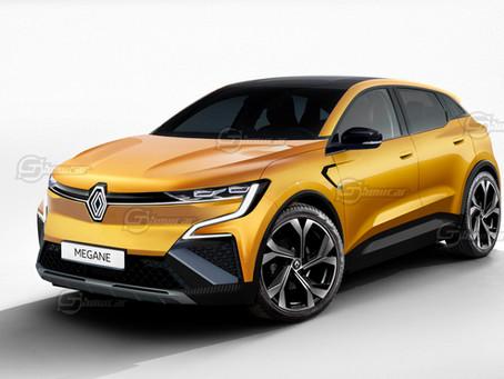 Renault Megane 2022: una nuova vita elettrica per la berlina francese | Rendering