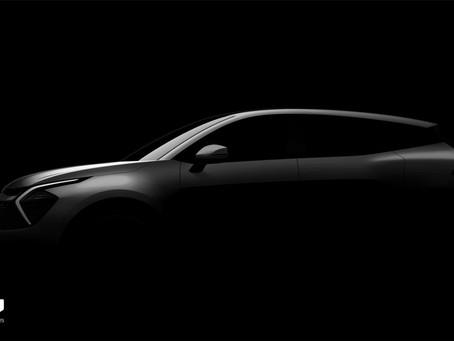 Nuova Kia Sportage 2022: presentazione a giugno e prime immagini teaser