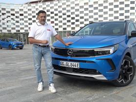 Opel Grandland 2022: la prova su strada del restyling (Video)