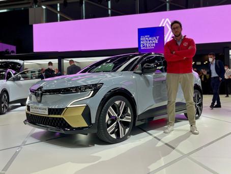 Renault Megane E-TECH Electric: la prima elettrica su base CMF-EV | Dal vivo al Salone di Monaco