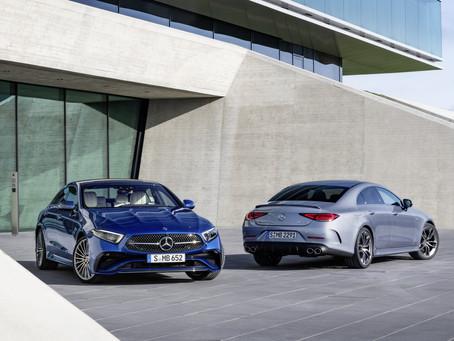 Mercedes CLS 2021: la berlina coupé si aggiorna con il restyling