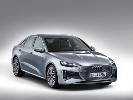 Nuova Audi A4: si farà e sarà solo ibrida ed elettrica / Rendering
