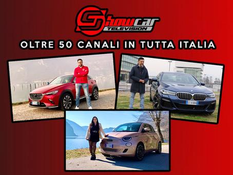 Fiat 500 elettrica, BMW Serie 5 e Mazda CX-3 protagoniste di ShowcarTV