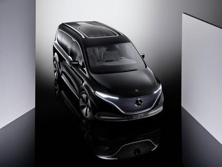 Mercedes EQT Concept: il multispazio anticipa la nuova Classe T 2022 e la sua versione elettrica