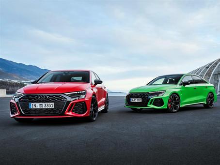 Audi RS 3 2021: i prezzi della sportiva da 400 CV