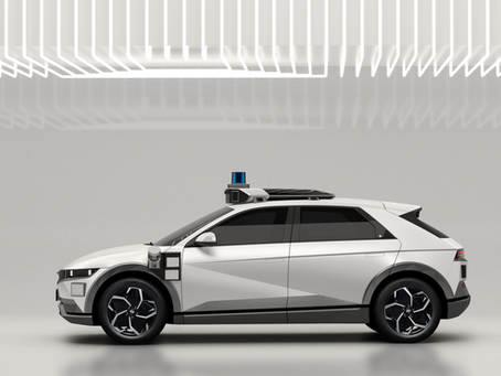 Hyundai IONIQ 5 diventa un taxi a guida autonoma: su strada nel 2023
