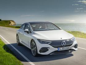 Mercedes EQE: la berlina business elettrica con 660 km di autonomia