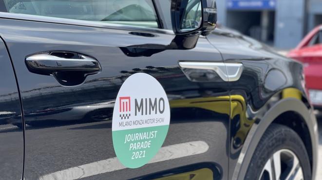 MIMO 2021: il Milano Monza Motor Show si apre con la Journalist Parade