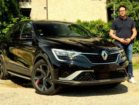 Renault Arkana E-TECH Hybrid: la prova del SUV coupé full hybrid (Video)