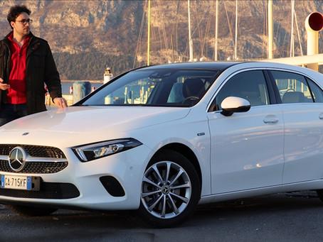 Mercedes Classe A ibrida plug-in: recensione, prova e consumi reali della A 250 e (Video)