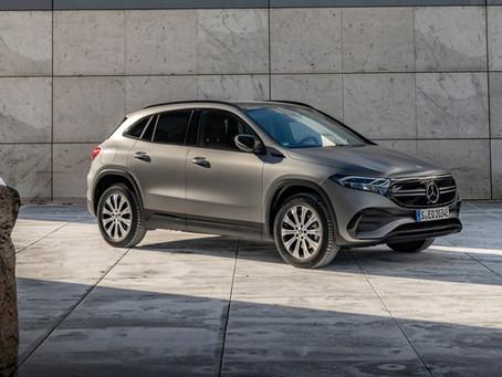 Mercedes EQA: nuove motorizzazioni con trazione integrale per il SUV elettrico