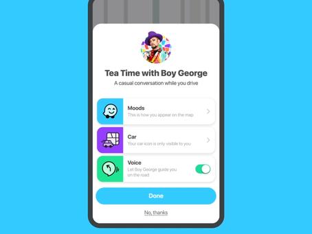 Waze sostiene e celebra il Pride Month con un tema speciale e la voce di Boy George