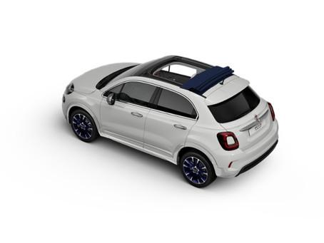 Fiat 500X cabrio Dolcevita: prezzi, versioni e motori del SUV con tetto apribile in tela