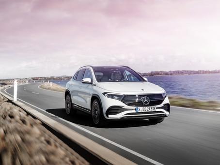 Mercedes EQA: 440 km di autonomia per il SUV compatto elettrico della Stella (Video)
