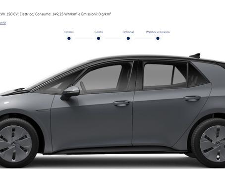 Volkswagen ID.3 City con batteria da 45 kWh e 350 km di autonomia: prezzi e dotazione