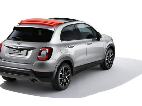 Fiat 500X Cabrio 2021: il rendering di Showcar