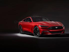 Ford Mustang 2022: ibrida e integrale | Il Rendering di Showcar