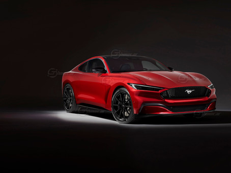Ford Mustang 2022: ibrida e integrale | Il Rendering di Showcar