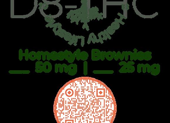 Texian HerbaCeutical Homemade Delta 8 Brownies - Gluten Free