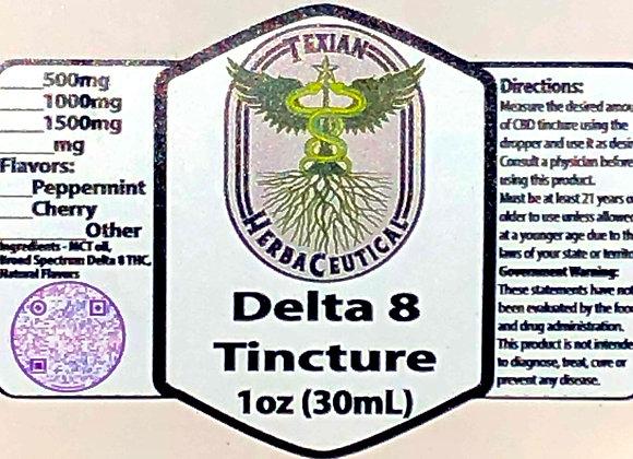 Texian HerbaCeutical Delta 8 Tincture