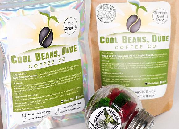 Cool Beans Dude CBD Coffee