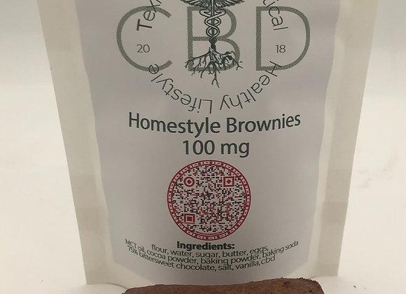 Texian HerbaCeutical Homemade CBD Brownies - Gluten Free