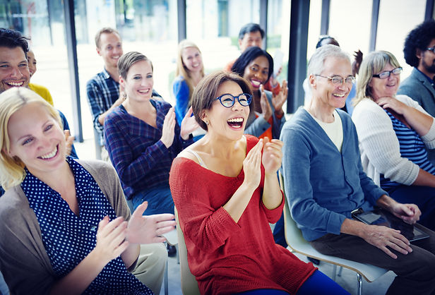Business training workshops create harmony in the workplace.\