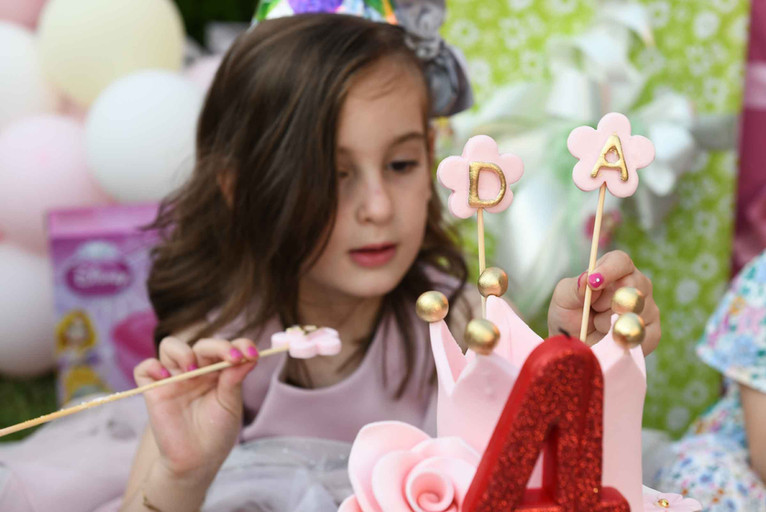 Ada's fourth birthday
