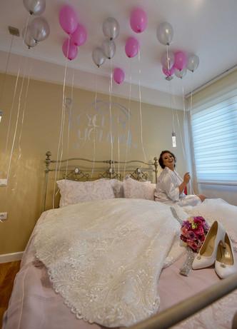 Lirjeta's bridal party