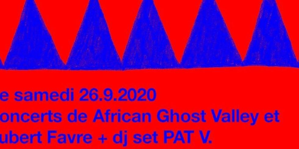 Concerts African Ghost Valley et Aubert Favre