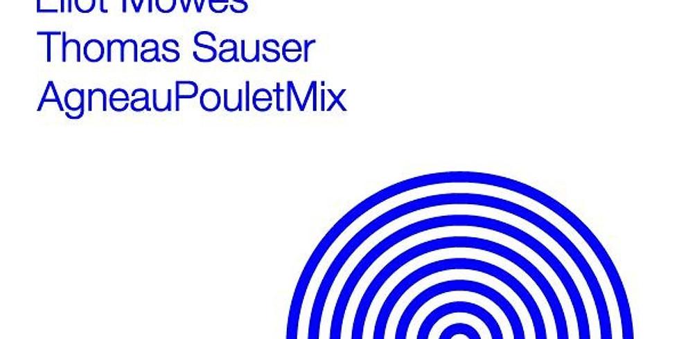 Expo Nouvelle Vague 1 - Thomas Sauser, AgneauPouletMix, Eliot Möwes