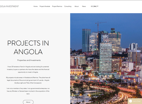 Investment in Angola