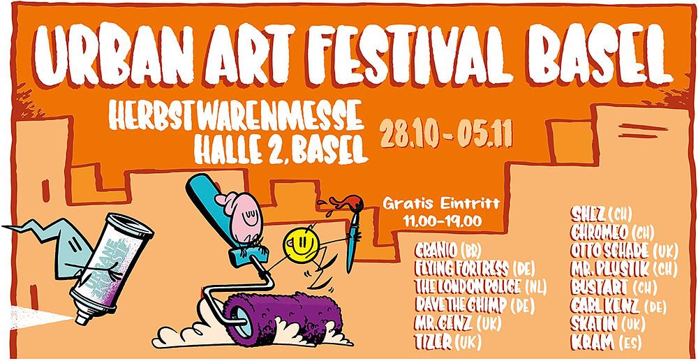 Urban Art Festival Banner