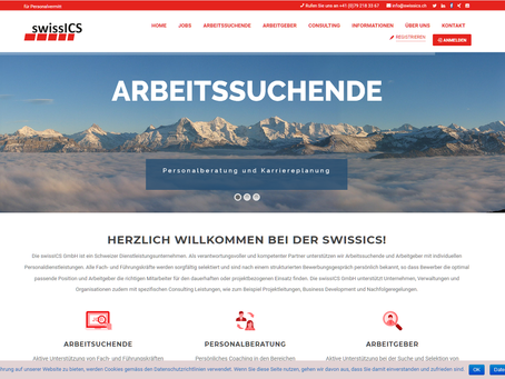 Relaunch www.swissics.ch