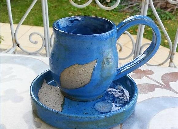Caneca Folha  Blue
