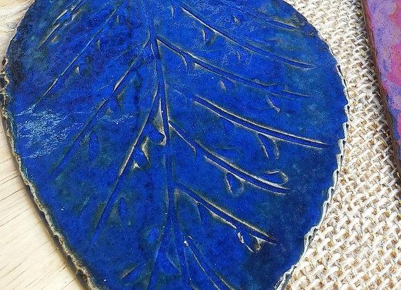 Incensário Folha Blue