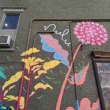 #NuluWildflower mural for Google Fiber