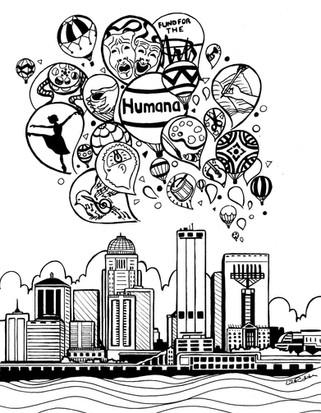 Humana Illustration
