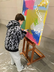 Collaborative Live Painting at the Speed Art Museum, 2018