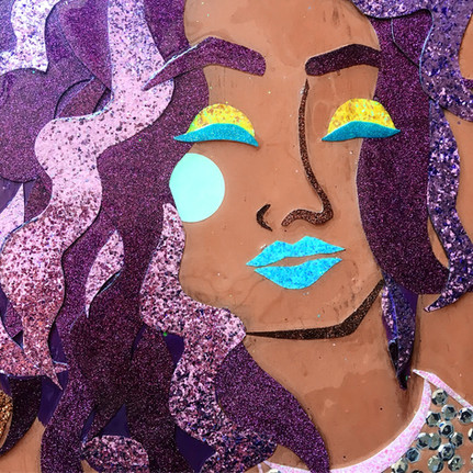 Party Cove Mermaids, detail