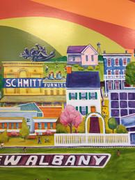New Albany Kroger Mural