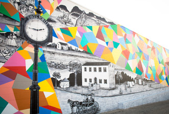 The History of Hikes Point Mural