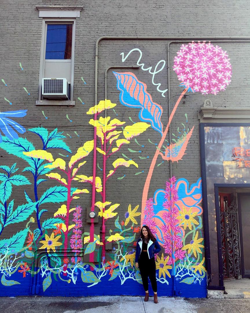 Google Fiber #NuluWildflower Mural