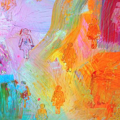 Woman, detail. 2014.