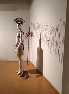 Arts Warrior installation